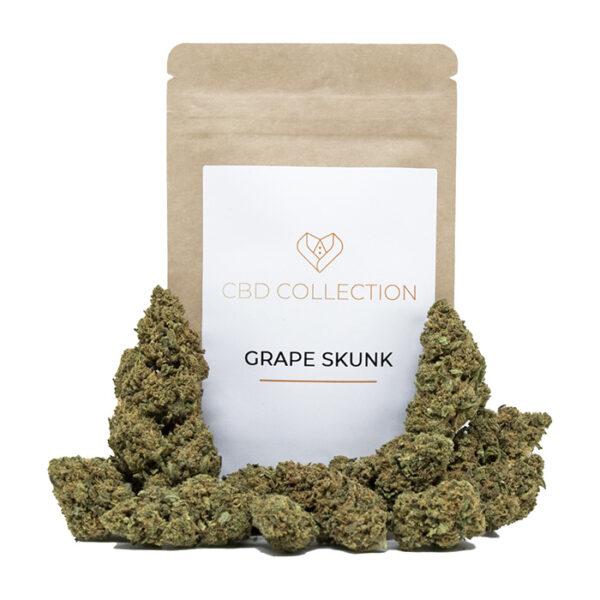 Grape Skunk Marijuana Light - Erba legale CBD Collection