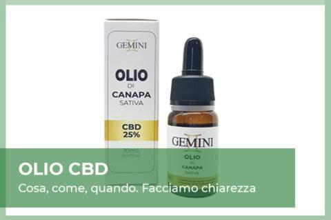 Benefici Effetti Olio CBD cannabis light