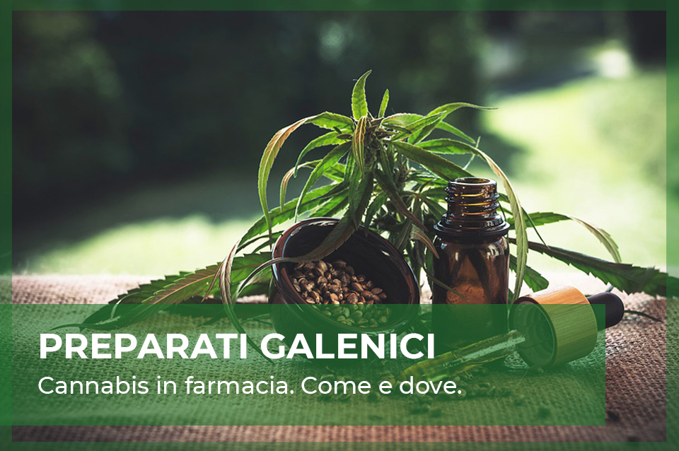 Preparati galenici cannabis light e cbd